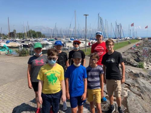 Ecole d'aviron août 2021