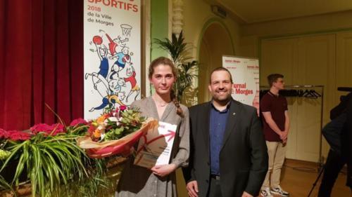 Mérites sportifs 2018
