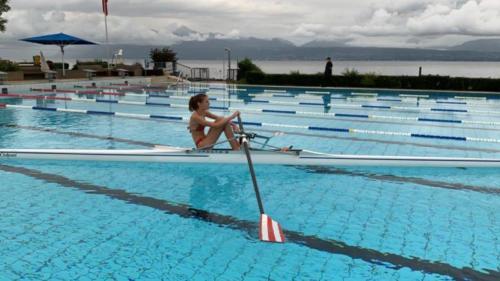 Cours skiff piscine 2020