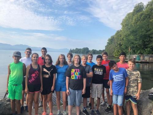 Ecole d'aviron 2018
